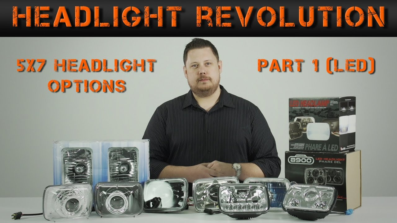 5x7 Or 7x6 Headlight Options Part 1 Led Revolution H4 Wiring Diagram Headlights To H1s Mgroverorg Forums Youtube