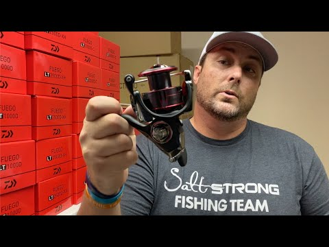 Best Saltwater Spinning Reel Under $100??? Daiwa Fuego (With MAGSEAL)