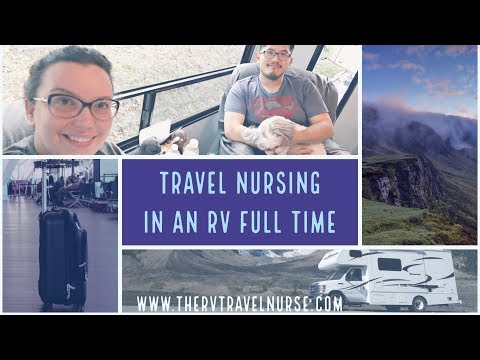 TRAVEL NURSE HOUSING OPTIONS: TRAVELING AND LIVING IN A RV | NURSE CHEUNG