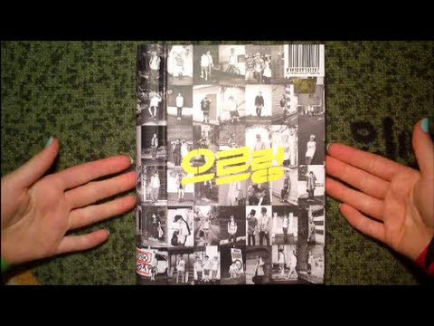 Unboxing EXO 1st Album XOXO Repackage Growl (Kiss Version)