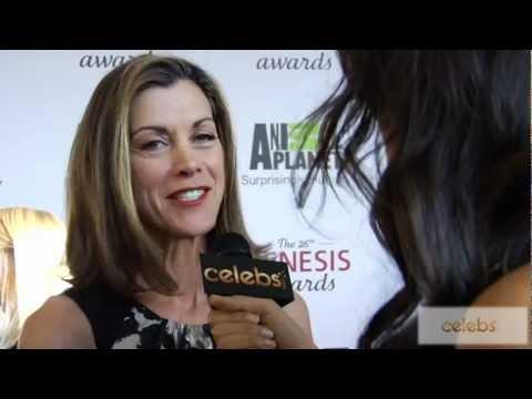 'Hot in Cleveland's' Wendie Malik at the 2012 Genesis Awards - a Celebs.com Original