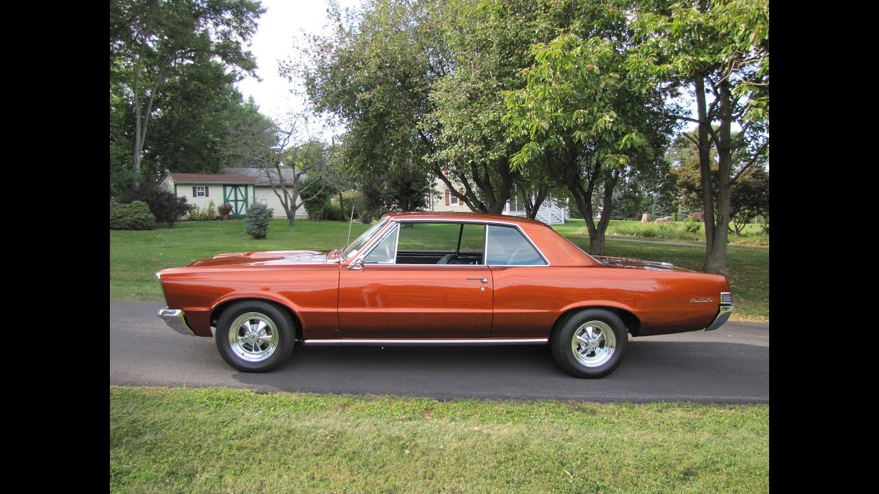 MUSCLE CAR 1965 GTO SOLD @ Eric\'s Muscle Cars call 240 277 7777 ...