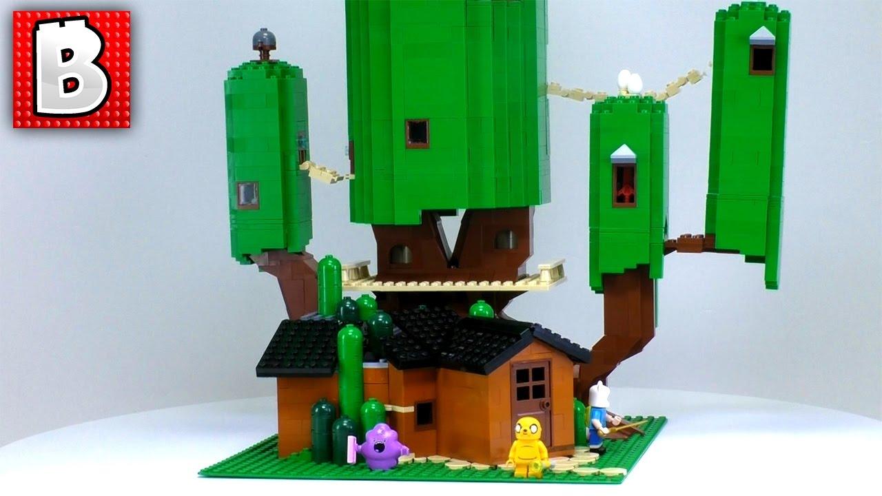 LEGO Adventure Time Treehouse MOC Minifig Scale 2000