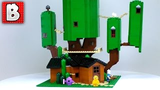 LEGO Adventure Time Treehouse MOC!!! Minifig Scale! 2000 + Parts!