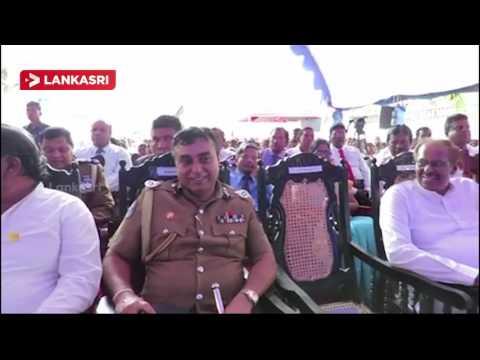 Sri Lankan President Maithripala Sirisena Visit