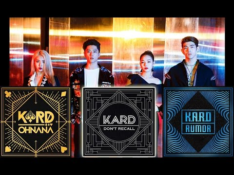 KARD ALL SONGS + (DOWNLOAD) K.A.R.D