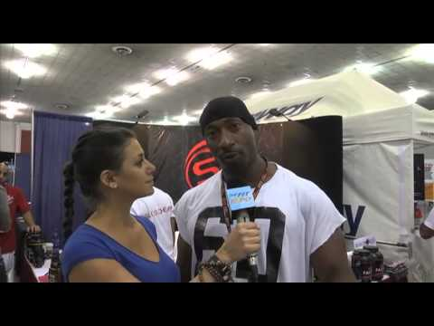 Oakland Raider William Anderson Interview at the San Jose Fit Expo 2012