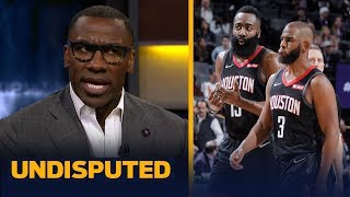 James Harden and Chris Paul cannot coexist on the Rockets - Shannon Sharpe | NBA | UNDISPUTED