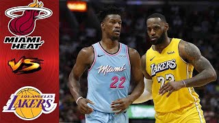 Los Angeles Lakers vs Miami Heat FULL GAME Highlight 1st QTR | Game 1 NBA Finals | NBA Playoff 2020