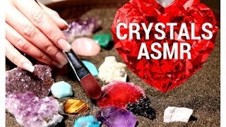 ASMR Finding and Brushing Crystals💎, АСМР На Украинском👄,  АСМР Кристаллы