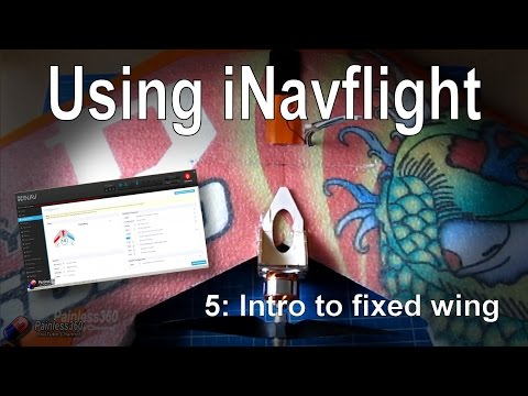 (5/8) Introduction to iNav: The differences when adding to fixed wing/flying wing models