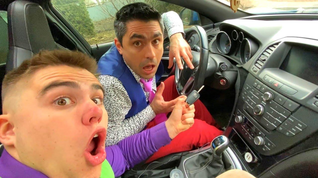 Thief Mr. Joker Got into Car & Stole Car Key VS Mr. Joe on Camaro 13+