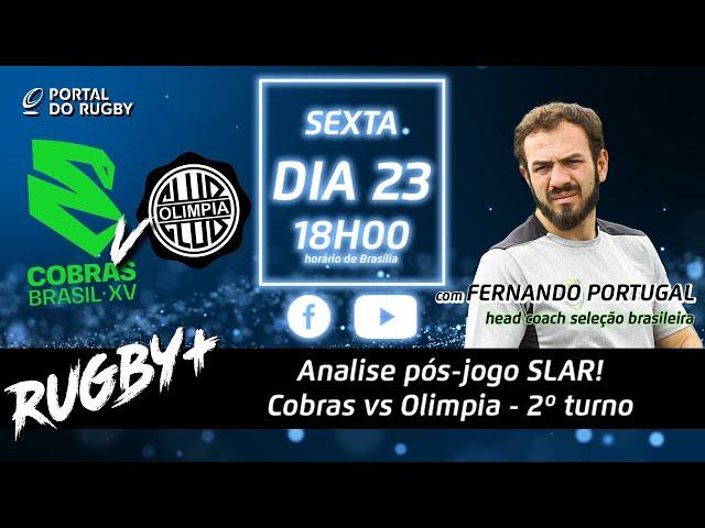 Hora de avaliar os Cobras após a última derrota. Com Fernando Portugal! | Rugby+ S02E09