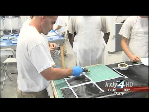 Inmates at Airway Heights learning skills to enter the aerospace industry