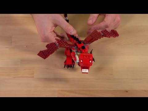 LEGO® Creator - UDĚLEJ SVÉMU DINOSAUROVI VELKÉ ZUBY A DRÁPY