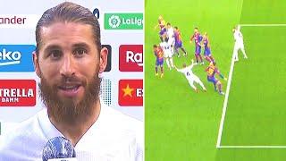 ВОТ ЧТО СКАЗАЛ СЕРХИО РАМОС о том самом ПЕНАЛЬТИ! Что происходило в Класико - Барселона Реал Мадрид