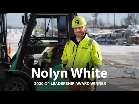 2020 Q4 Leadership Award Winner - Nolyn White