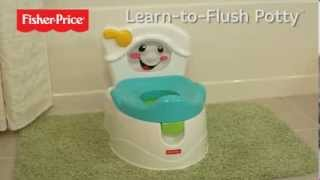Fisher Price Potty Training, Learn to Flush Baby