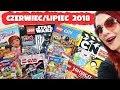 GAZETKI CZERWIEC/LIPIEC 2018 📰 Lego Friends, Lego Ninjago, Lego Star Wars, Cartoon Network