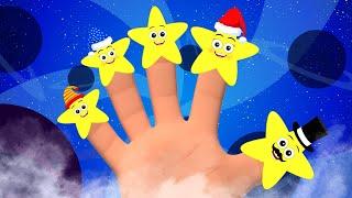 Семья Звезды Пальца | детские стишки | дошкольные видео | мультфильмы для детей | детский сад