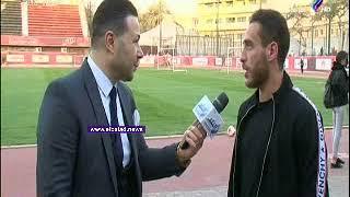 هشام محمد: شرف لأي لاعب ارتداء تيشرت الأهلي..فيديو