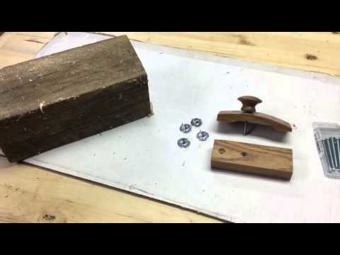 Quilt clamps and shaker shelf, small wood projects