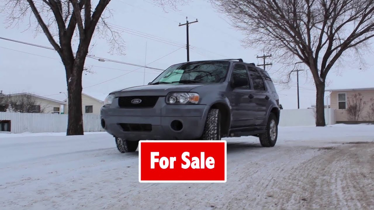 2007 ford escape Edmonton Used Car Sales Sell My Car Quickest