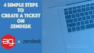 4 Einfache Schritte zum Erstellen eines Ticket - | ag-Raster-x-Zendesk