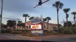 Driving to Jacksonville Beach FLORIDA