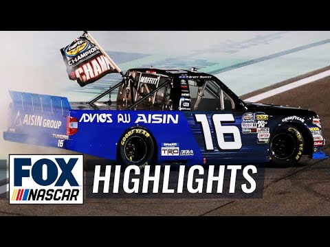 Brett Moffitt wins the 2018 Truck Series championship | FOX NASCAR