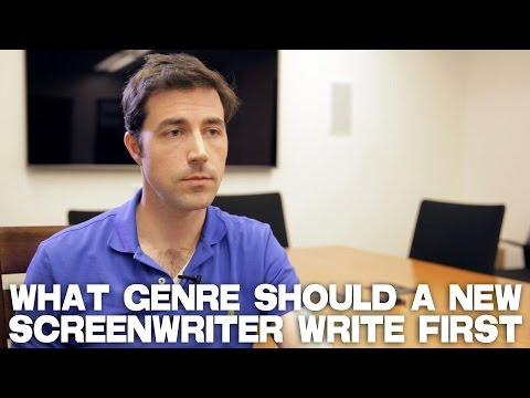 What Genre Should A New Screenwriter Write First? by Scott Kirkpatrick