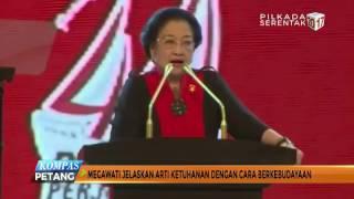 Megawati Jelaskan Arti Ketuhanan di HUT Ke-44 PDI-P