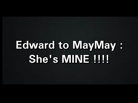 MayWard : Maymay with Edward  sa Cebu live concert ( Ed : She's mine!!!! 😜