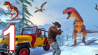 Wild Animal Hunter 2021: Dino Hunting Games - Gameplay Walkthrough Part 1 (Android,iOS)