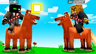 Inventing TNT Jousting In Camp Minecraft | JeromeASF