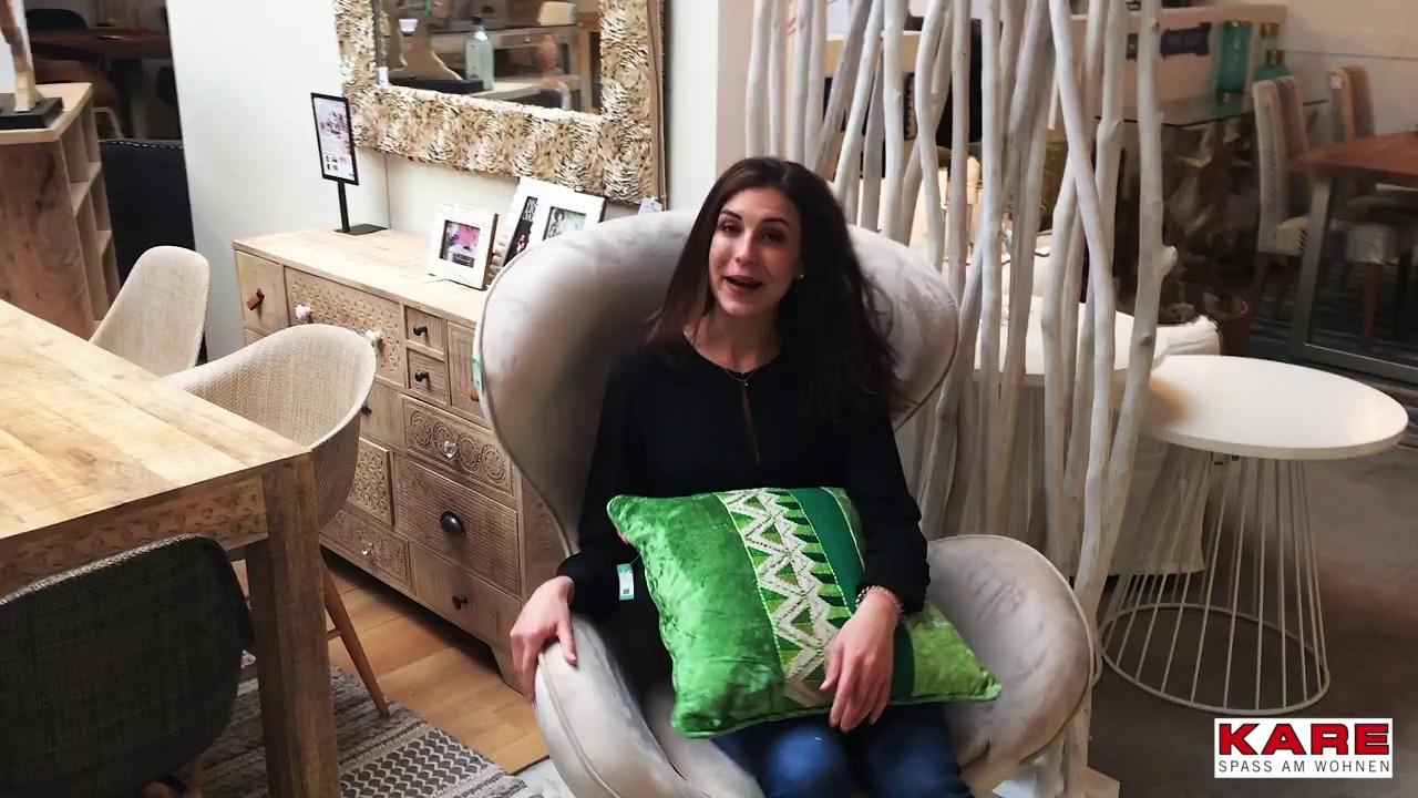 KARE Design x Elena Drehstuhl Lounge Surprise - YouTube