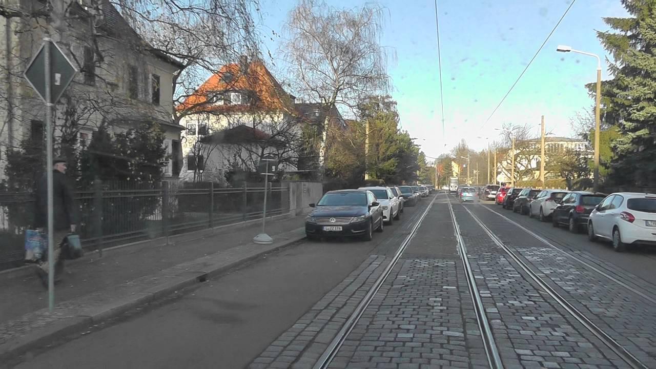 Leipziger Straßenbahn Linie 9 Teil 1 Mitfahrt Am Tag Der