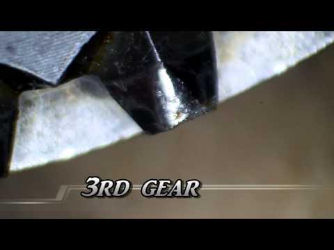 002 VW Transaxle rebuild part 4 - gear closeup