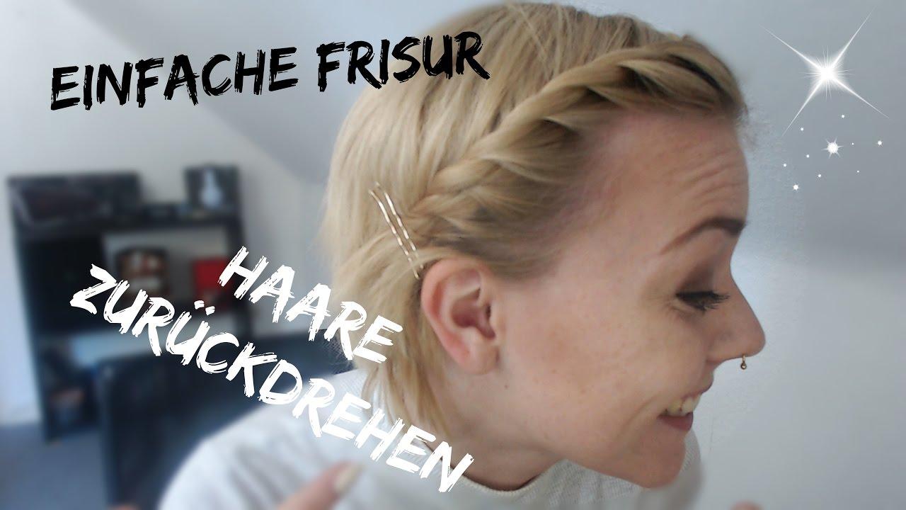 Haare Zurück Drehen Einfache Alltagsfrisur Zwerg Alina Youtube