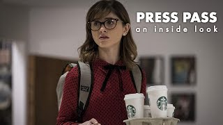 An Inside Look at the Velvet Buzzsaw | Natalia Dyer | PRESS PASS |
