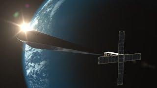 Orbital Reflector Space Art Facts