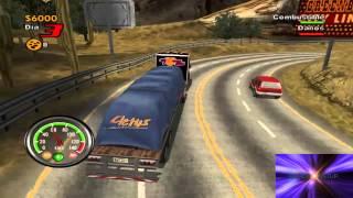 Gameplay Big Mutha Truckers Modo Historia PC