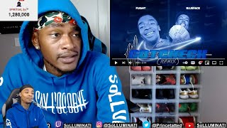 Reacting To Flight L Reacts Drops a song ft. BlueFace!