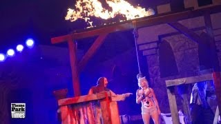 Knott's Scary Farm - The Hanging 2013 - Full Show - Opening Night - HD