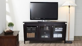 Furniture Of America Enitial Lab Cedric Modern Buffet Sleek Design With Roomy Storage Compartments