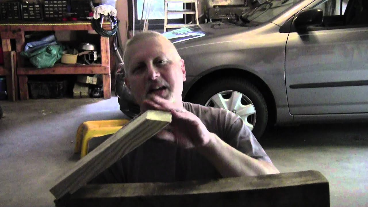 Diy Compact Car Ramps Youtube