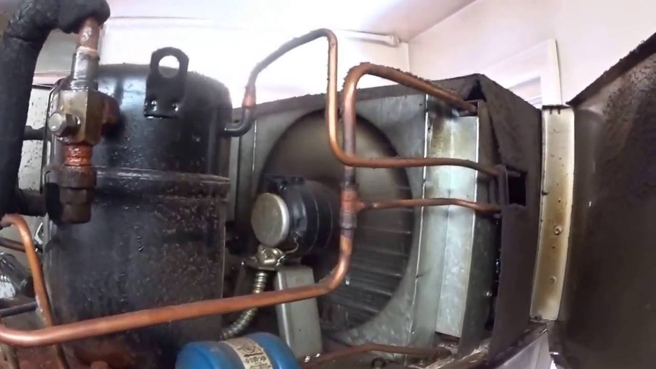 How To Oil A Sealed Condenser Fan Motor On A Freezer Youtube