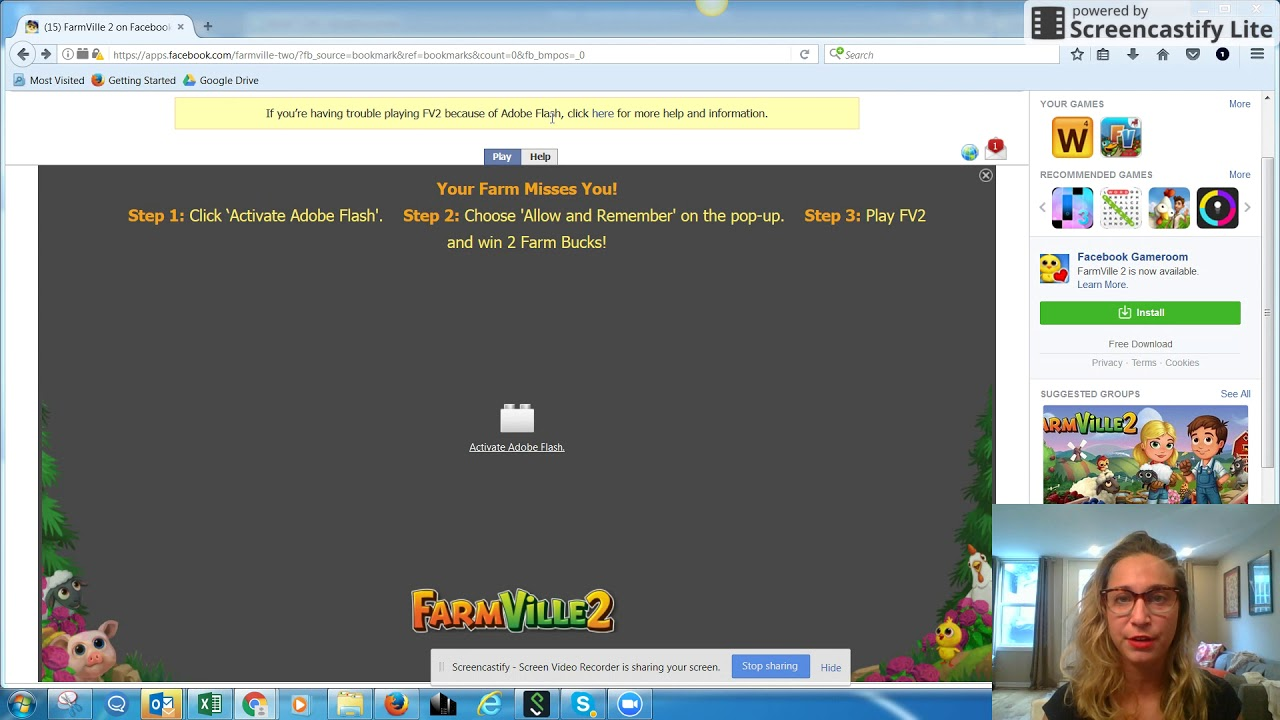 FarmVille 2 Browser Support - Firefox