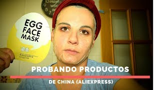 Probando productos de china (Aliexpress)