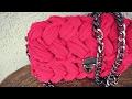 Fıstık modeli çanta yapımı ve püf noktaları 🖒